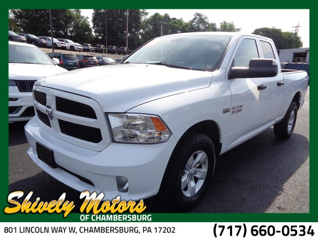 Certified Pre-Owned 2017 RAM 1500 Tradesman/Express