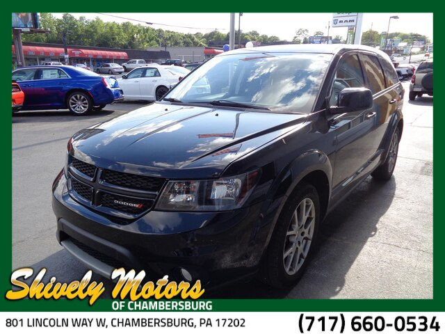 Dodge Suv 2016 >> Certified Pre Owned 2016 Dodge Journey R T Fwd Suv